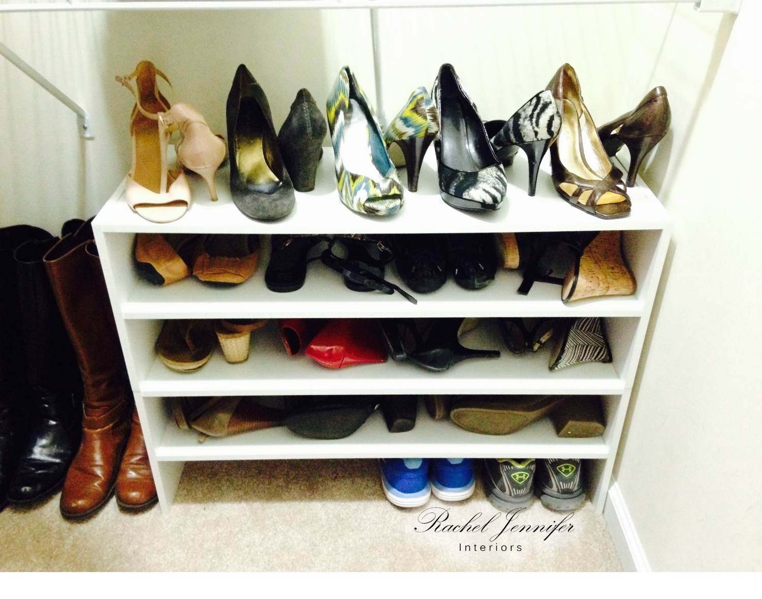master hers closet shoes after 1