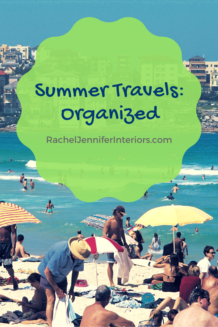 Summer travels: organized